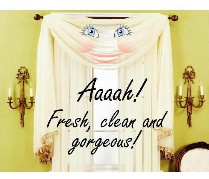Cleaning SERVPRO of North Arlington offers Professional Drapes & Blinds Cleaning!