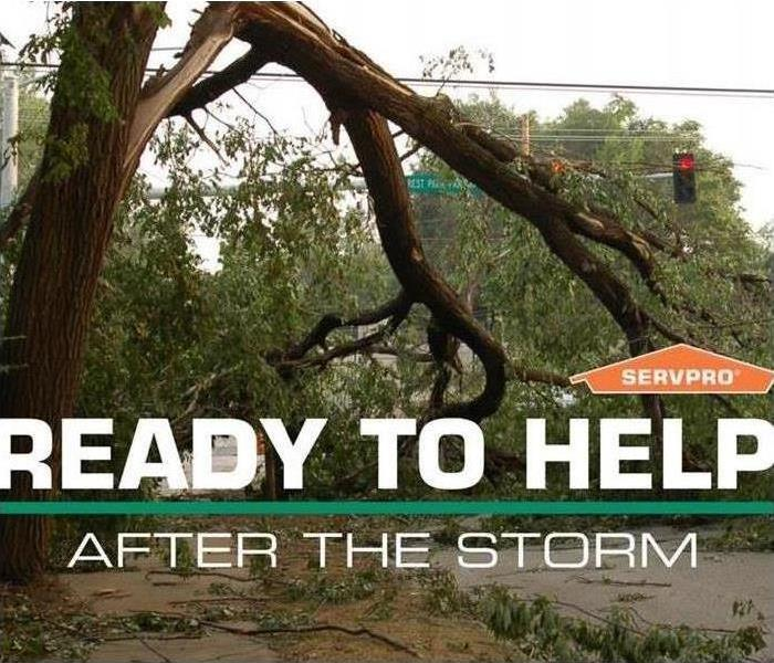 Storm Damage When Storms or Floods hit North Arlington, the SERVPRO team is ready!